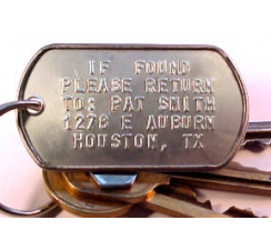 Dog Tags for Keys