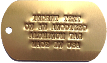 Keys Aluminum Gold
