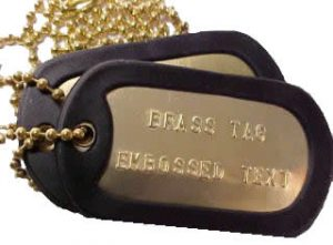 Brass Tag Set